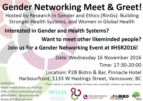 Gender Networking Meet & Greet