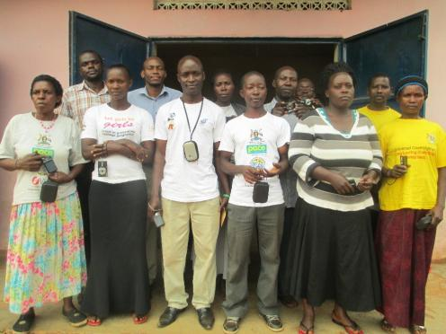 Researchers and community health workers