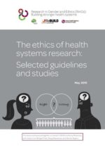 Ethics of health systems research