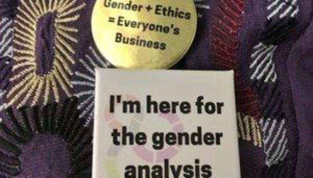 gender buttons