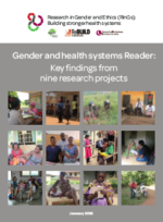 Reader on gender and health systems
