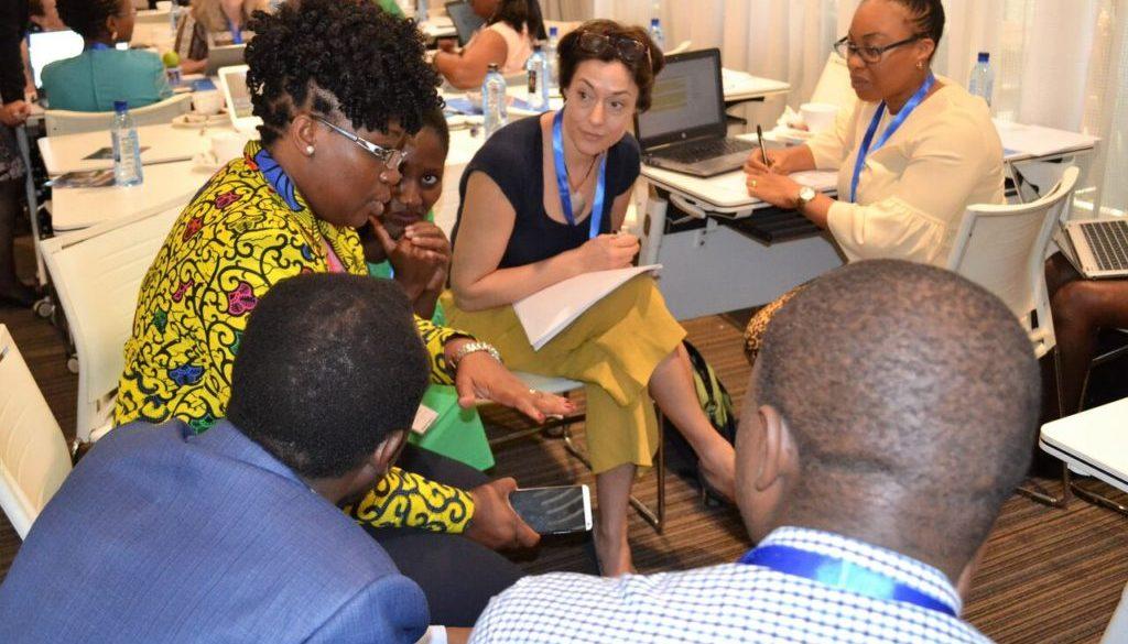 Group work in gender meeting